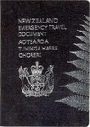 New Zealand Emergency Travel Document cover