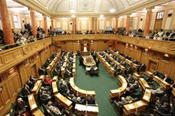 Nov-Zelando House de Reprezentantoj-Diskutado Chamber.jpg