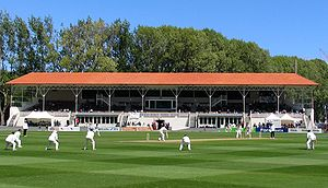 University of Otago Oval, Dunedin - Image: New Zealand vs Pakistan, University Oval, Dunedin, New Zealand