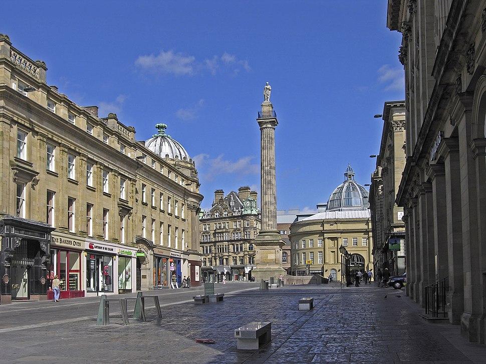 Newcastle greys monument