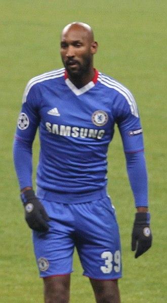 Nicolas Anelka - Nicolas Anelka playing for Chelsea