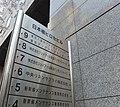 Nihombashi Hirose Building Signboard.JPG