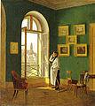 Nikolaus Moreau, Blick aus einem Fenster des Dianabades in Wien.jpg