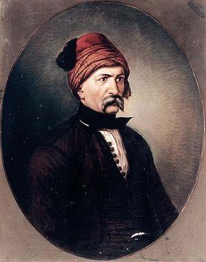 Nikolis Apostolis - Nikolis Apostolis. Portrait by Dionysios Tsokos