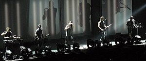 Nine Inch Nails, live at Mediolanum Forum, Milan in 2013.jpg