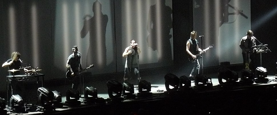 Nine Inch Nails, live at Mediolanum Forum, Milan in 2013