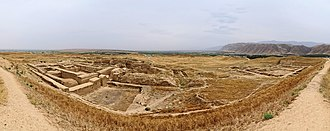 Nisa, Turkmenistan - Nisa seen from its western end