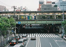 image illustrative de l'article Gare de Nishi-Nippori