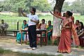 Nisith Ranjan Chowdhury and Susmita Dutta - Nutrition Diet and Personal Hygiene Session - Summer Camp - Nisana Foundation - Sibpur BE College Model High School - Howrah 2013-06-09 9577.JPG