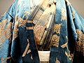 Noh costume worn by main performer in Shichikiochi, Kita School - Treasure Hall, Itsukushima Shinto Shrine (Miyajima) - DSC02212.JPG