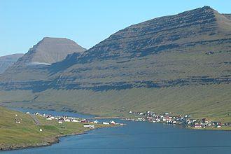 Hvannasund - Norðdepil and Hvannasund