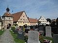 Nordseite Friedhof Roßtal 02.JPG