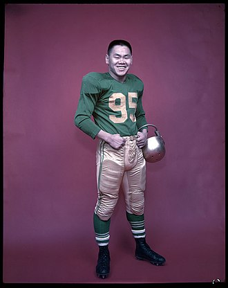 Norman Kwong - Image: Norman Kwong Football Uniform 1957
