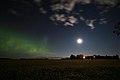 Northern Lights. Taken in St. Andrews, Manitoba (502102) (15231992292).jpg