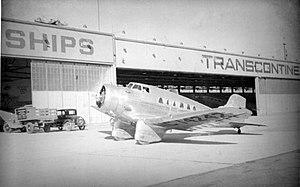 Northrop Delta - Image: Northrop Delta 1