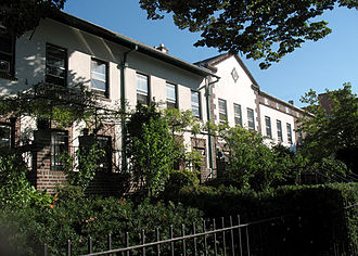 Warren and Wetmore - Norwood Gardens terrace homes, Astoria, 2008