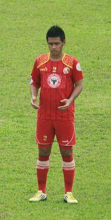 Novan Sasongko Indonesian footballer