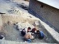 November 2007-Archaeologists of Hazara University excavating Gankorini-o-Take, Chitral - panoramio (2).jpg