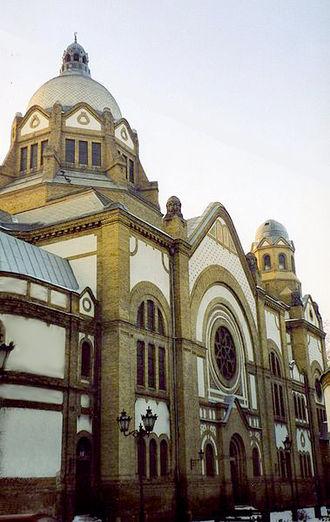 Spatial Cultural-Historical Units of Great Importance (Serbia) - Image: Novi Sad Synagogue 014