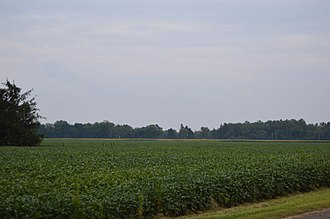 Waterville Township, Lucas County, Ohio - Fields southwest of Waterville