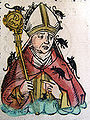 Nuremberg chronicles - Hatto, Archbishop of Mainz (CLXXXIIv).jpg