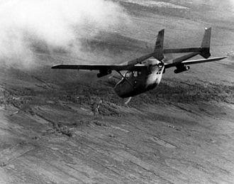 Forward air control during the Vietnam War - An O-2A fires smoke markers at a target.