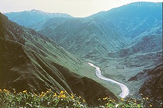 Hells Canyon landform