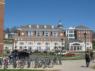 John Calhoun Baker University Center - Exterior of Baker Center