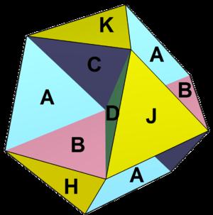 Octahemioctahedron - Image: Octahemioctahedron labeled