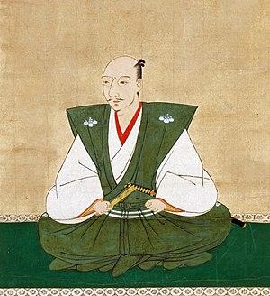 Oda Nobunaga - Oda Nobunaga in a 16th-century portrait by Kanō Motohide