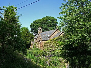 Chedington - Image: Old Church of St James Chedington geograph.org.uk 457410
