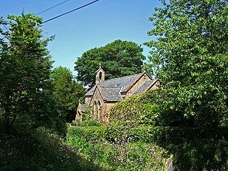 Chedington - Image: Old Church of St James Chedington geograph.org.uk 457410