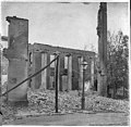 Old Franklin County Courthouse, Chambersburg, Pennsylvania, after destruction by Confederate troops on July 30, 1864.jpg