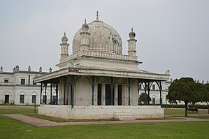 Madina Mosque (Bengal) - The old Madina mosque at Nizamat Fort campus, Murshidabad.