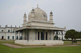 Madina Mosque (Bengal) - The old Madina mosque at Nizamat Fort campus, Murshidabad.