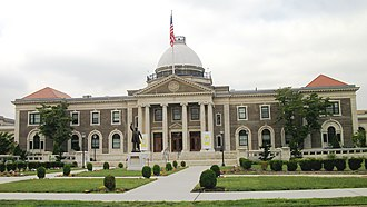 Mineola, New York - Old Nassau County Courthouse