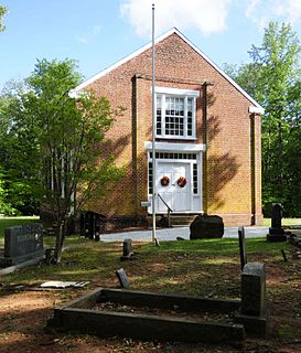 Old Pickens Presbyterian Church United States historic place