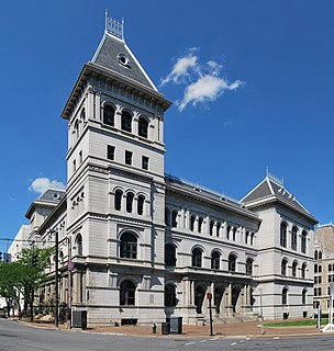 building in Albany, New York, USA