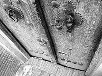 An old door, Kashan, Iran