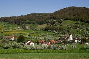 Oltingen - Image: Oltingen Dorf