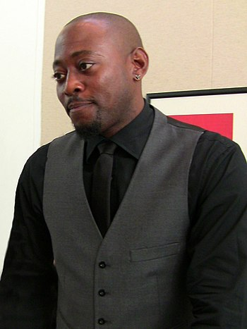 English: Actor Omar Epps at TV series House ev...