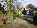 One of the driveways to Hovingham Lodge - geograph.org.uk - 356127.jpg