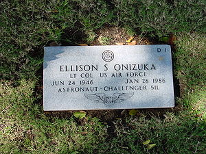 Ellison Onizuka - Gravesite of Onizuka