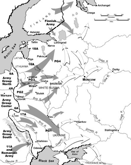 Operation Barbarossa corrected border