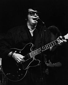 bb68daa8061 Orbison performing in New York in 1987