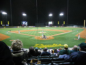 Oregon Ducks baseball - Image: Oregon Ducks baseball game