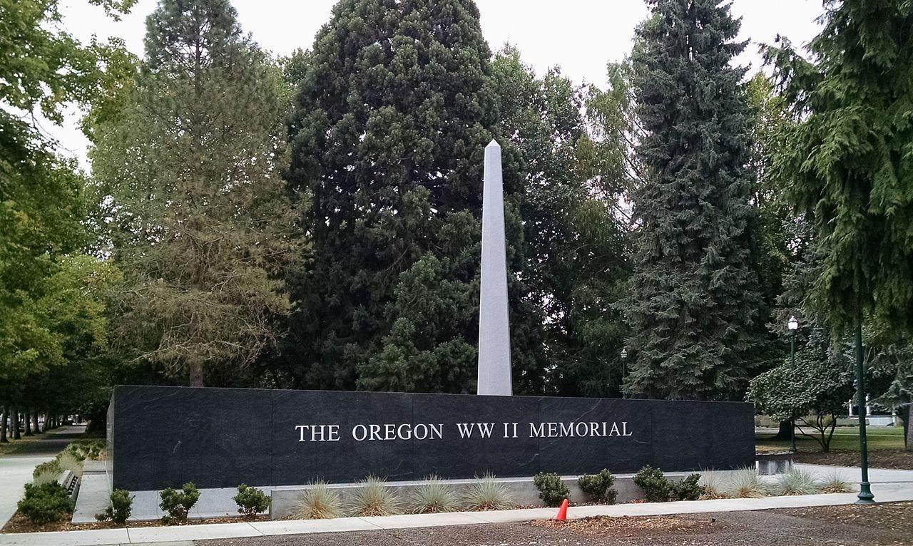 Oregon WWII Memorial