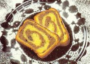 Nut roll - Orahnjača variation of nut roll