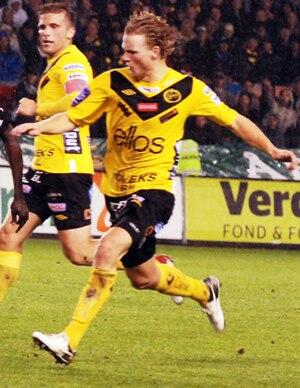 Oscar Hiljemark - Hiljemark with Elfsborg in 2012