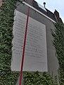 Osip Mandelstam - Leningrad - Haagweg 29, Leiden.JPG